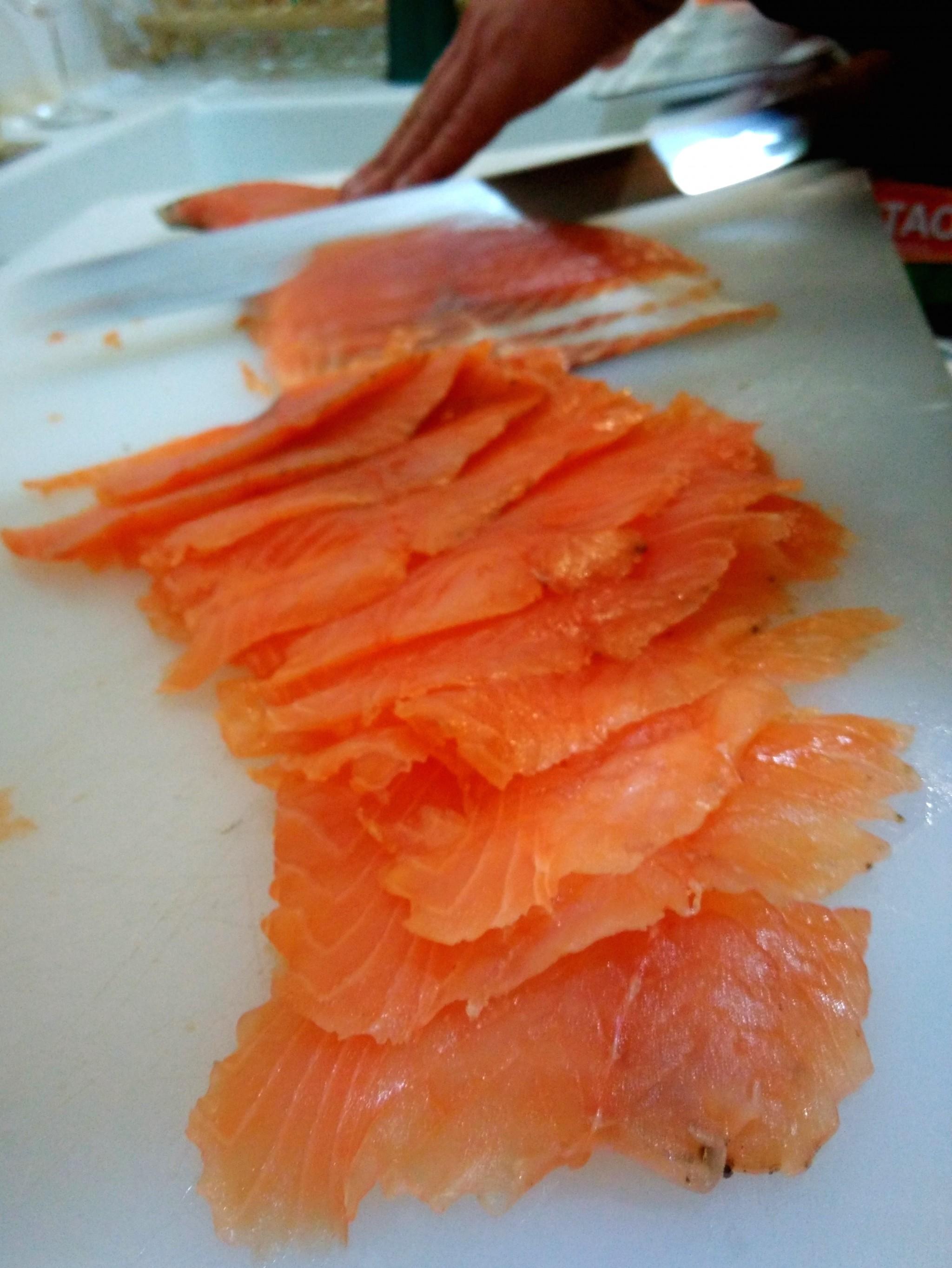 Du saumon à volonté