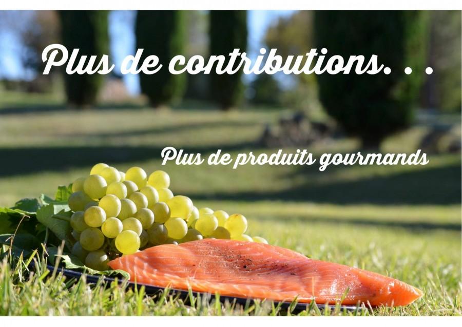 Plus de contributions pour plus de produits gourmands!